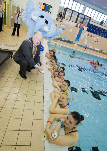 durham swimmers makes a splash with swim active century day big splash ForChester Le Street Swimming Pool