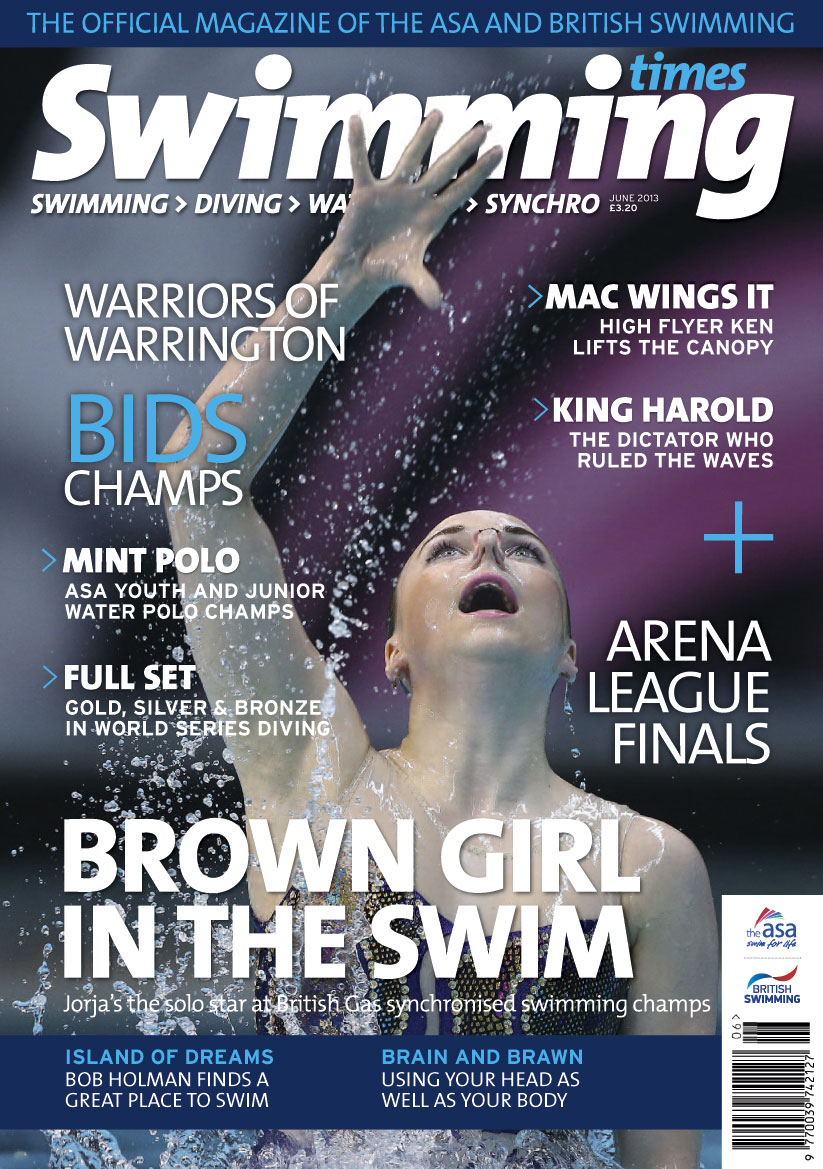 Pick up a copy of Swimming Times today