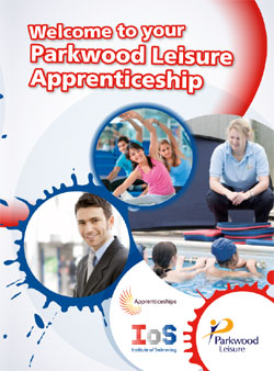 Parkwood Leisure apprenticeship folder
