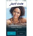 The Just Swim swim logging app