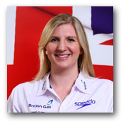 Rebecca Adlington - 'It inspires us athletes if you can get behind us with your support'.