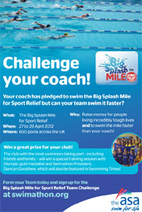 Challenge your coach flyer