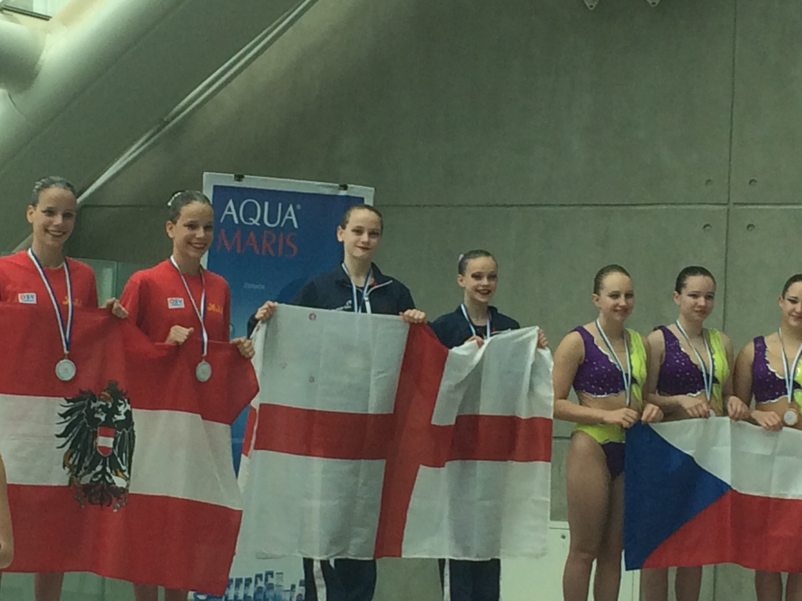 ASA England Talent Synchronised Swimming Duet Primorje Cup 2014