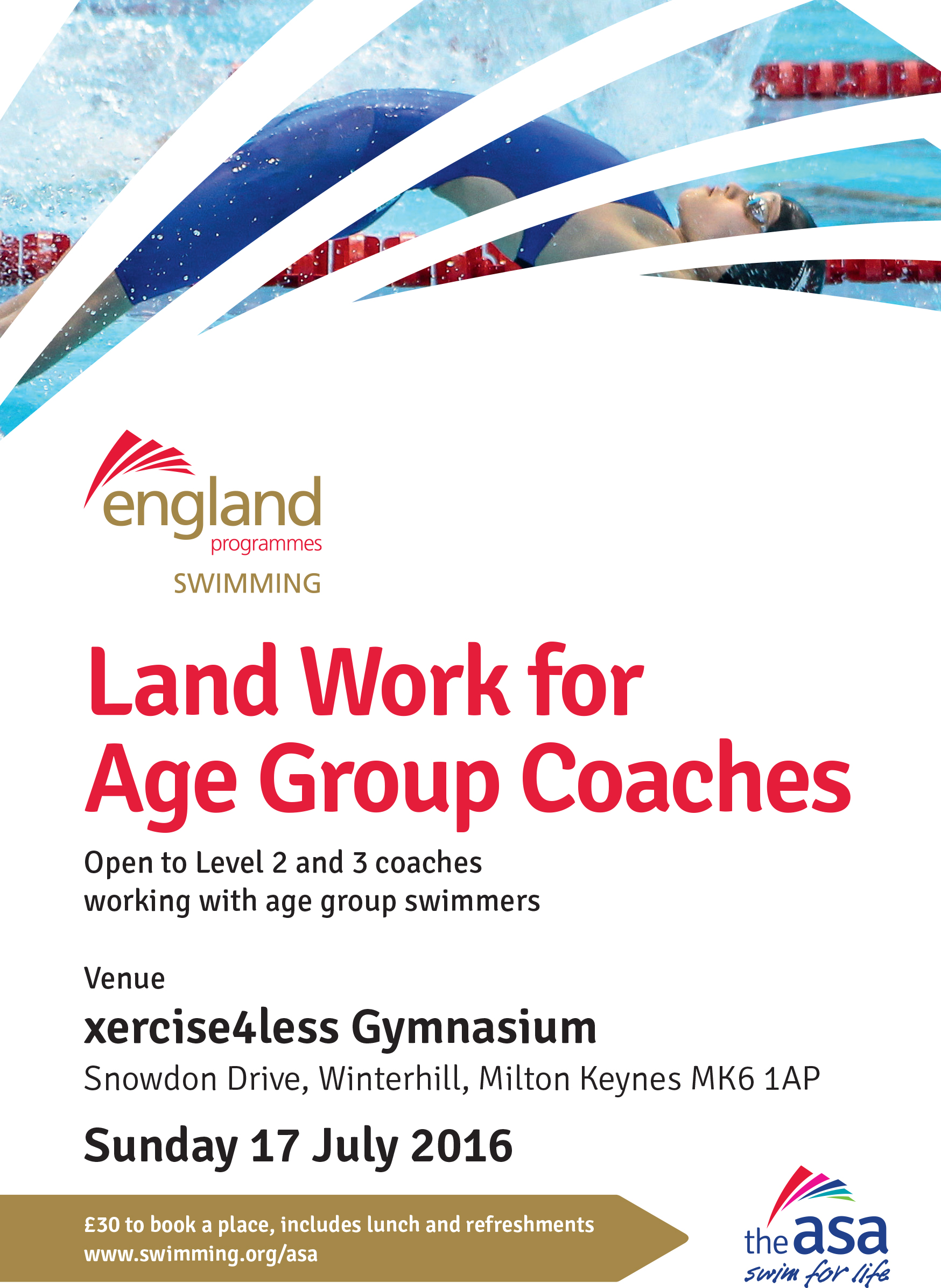 Land Work for Age Group Coaches day