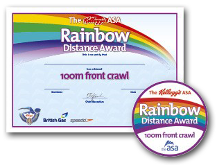 Kellogg's ASA Rainbow Stroke Distance Awards