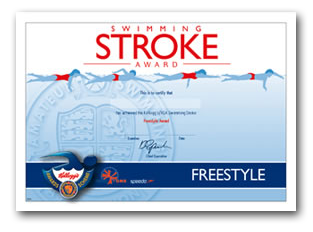 Swimming Stroke Award