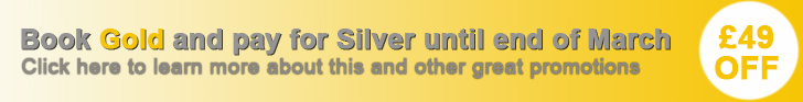 Gold for Silver offer and other great promotions to reduce your advertising costs