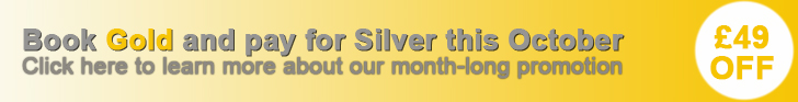 Gold for Silver is back for October. Click to learn more
