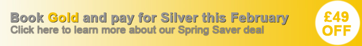 Don't miss our Spring Saver deal and get a Gold advert for the price of a silver. That's a £49 saving.