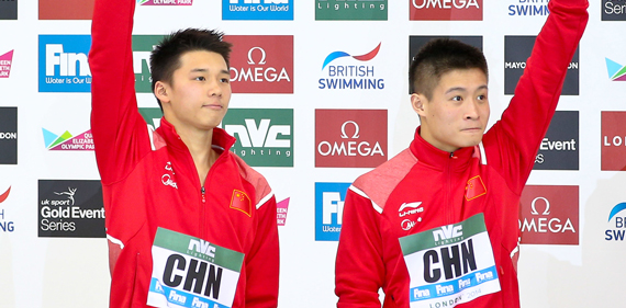 China diving medallists
