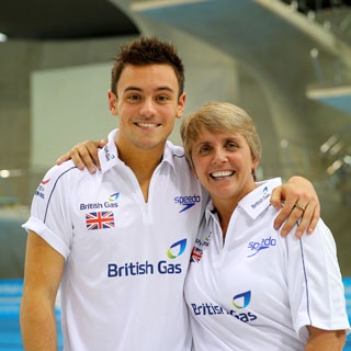 Tom Daley and Jane Figueiredo