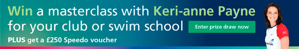 Win a masterclass with Keri-anne Payne for your club or swim school
