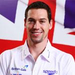 Three-time Olympian Simon Burnett
