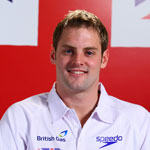 World 50m Backstroke champion Liam Tancock