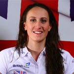 100m Backstroke swimmer Georgia Davies