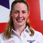 World Championships 2011 silver medallist Hannah Miley